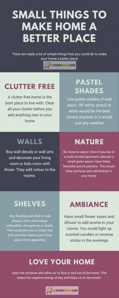 Small things to make your home a better place