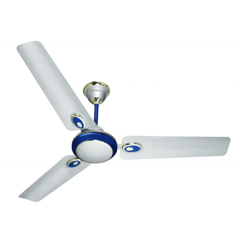 Havells fusion ceiling fan 1200 mm 3 blade aps iconic home for Red wing ball bearing ac motor